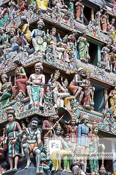 'Detail Of Sri Mariamman Hindu Temple