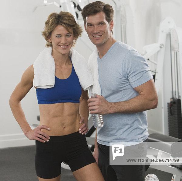 Fitness-Studio  Portrait