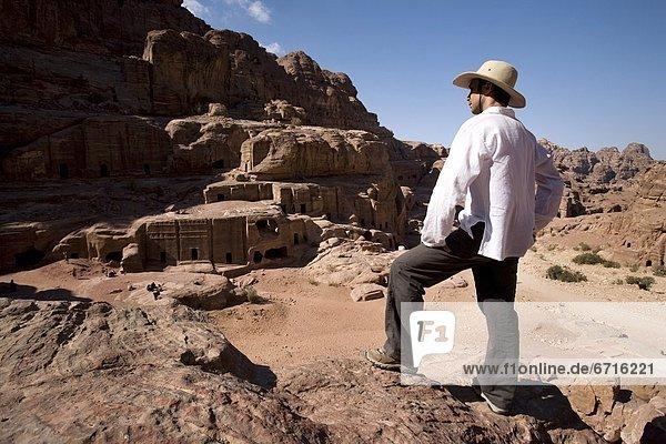 nahe  stehend  Mann  Denkmal  Katakombe