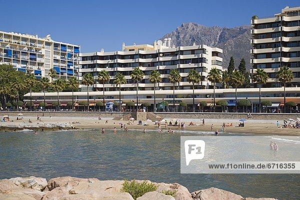 Landschaftlich schön  landschaftlich reizvoll  Strand  Hotel  schießen