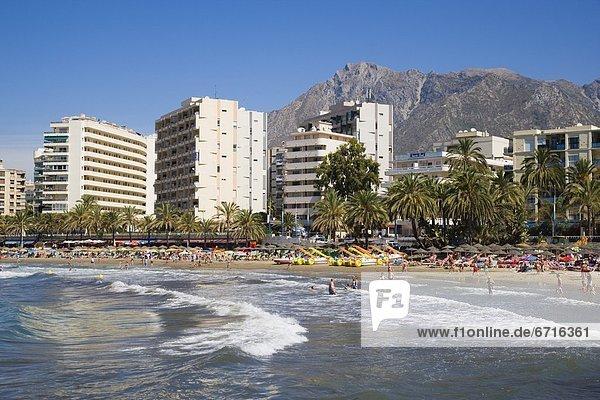 Landschaftlich schön landschaftlich reizvoll Strand beschäftigt schießen