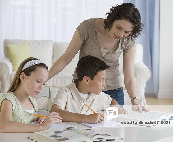 Hilfe Mutter - Mensch Hausaufgabe