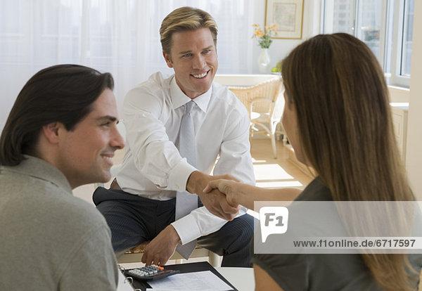 Finanzen Rat Besuch Treffen trifft