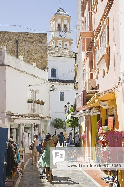 Malaga  Marbella  Spanien  Stadtkirche