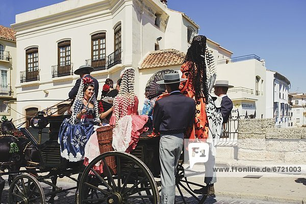 Transport Festival Ronda Spanien