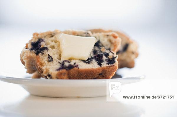 Heidelbeere  Muffin  Butter