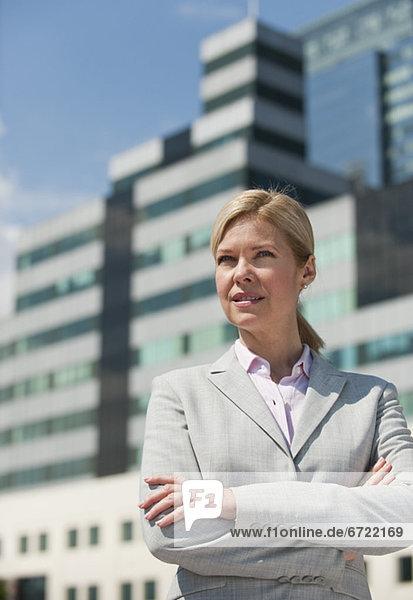 Außenaufnahme  Geschäftsfrau  freie Natur Außenaufnahme ,Geschäftsfrau ,freie Natur
