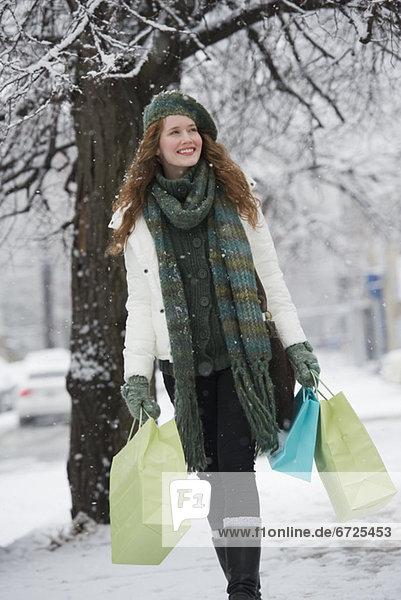 Frau  Winter  Tag  kaufen