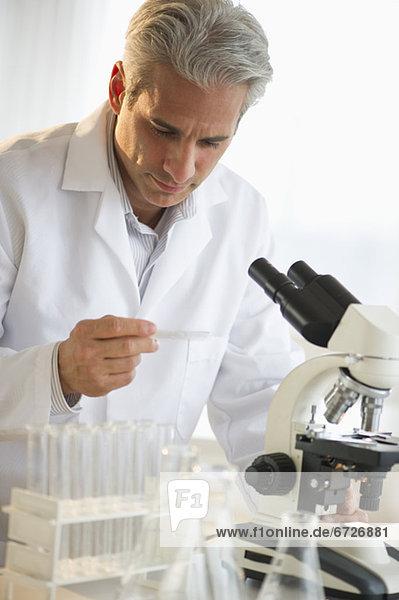 Laborant  arbeiten  Forscher  Wissenschaft