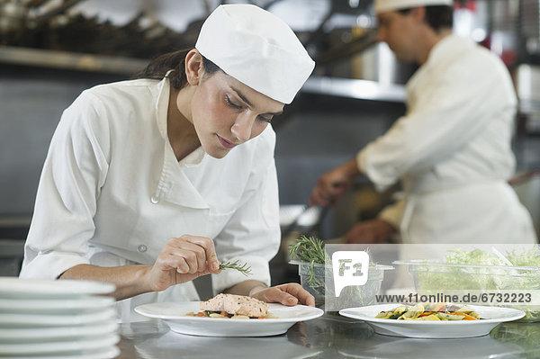 Lebensmittel  Vorbereitung  Küche  Koch  Köchin