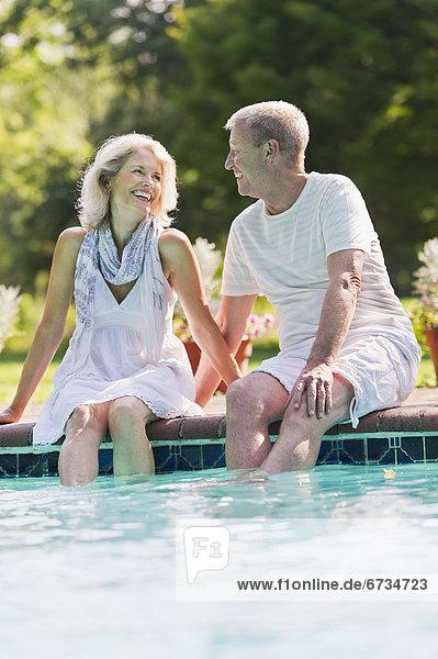 Senior Senioren Ecke Ecken Schwimmbad