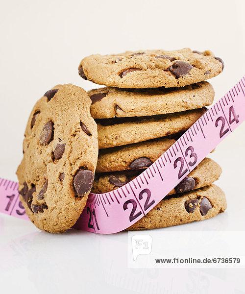 Stapel  Maß  Schokolade  Klebeband  Keks  Felssäule