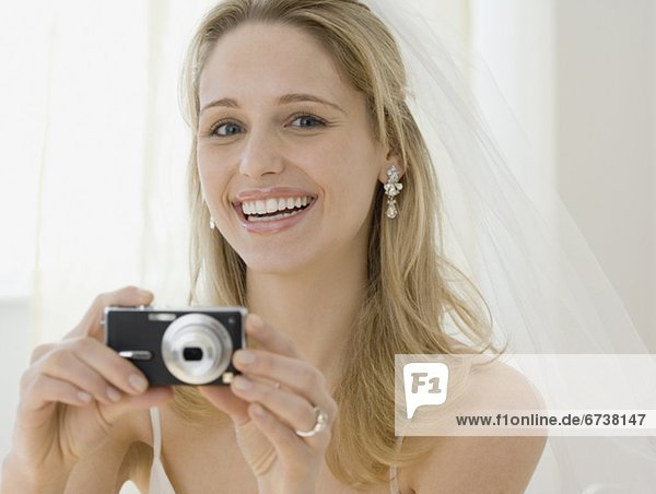 Fotografie  nehmen  Braut