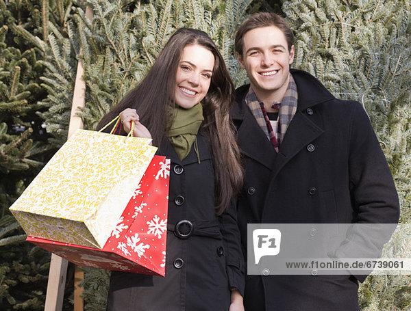 Tasche frontal Weihnachtsbaum Tannenbaum kaufen Weihnachtsbäume