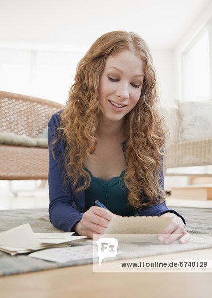 Frau  Post  vorlesen