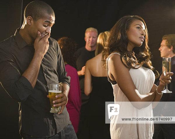 Paar im Nachtclub