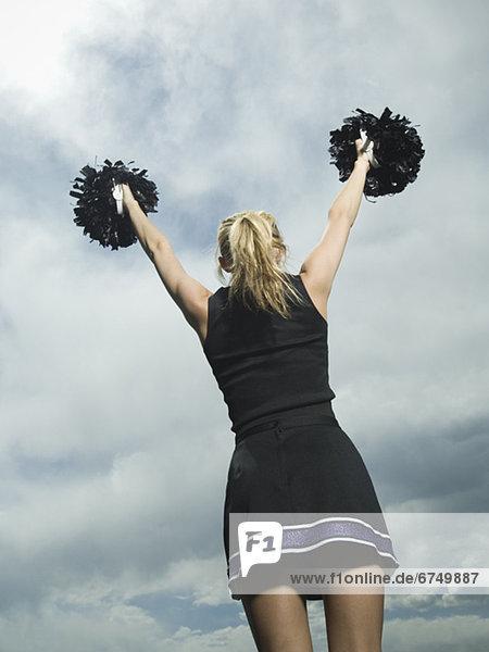 Rückansicht  Ansicht  Cheerleader