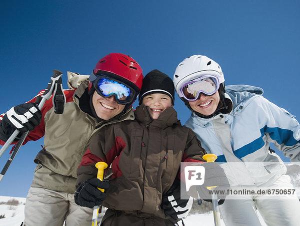 Ski  Kleidung  Fahrgestell