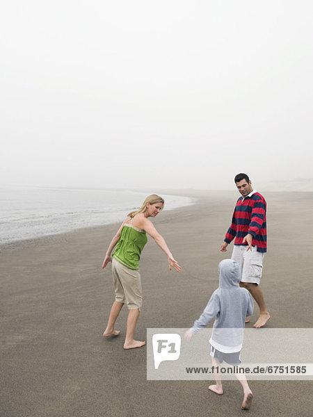 Strand  Sohn  Menschliche Eltern