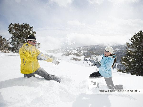 Außenaufnahme  freie Natur  Schnee