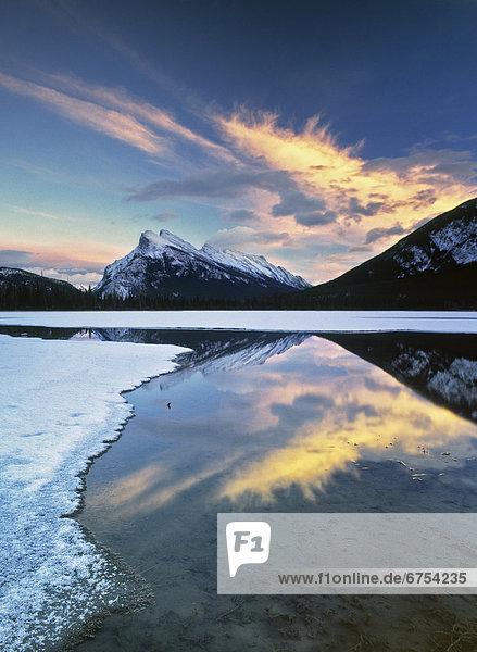 See  Berg  Banff Nationalpark  Alberta  Sekunde