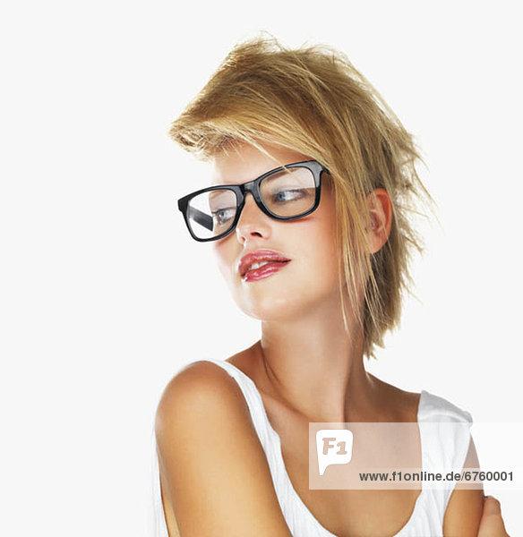 blond  Frau  Kleidung  Sinnlichkeit
