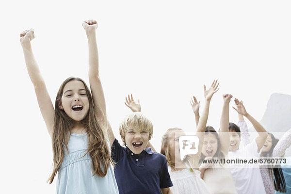 Gruppe von glücklichen Kinder