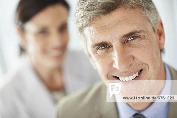 Portrait  Wirtschaftsperson  Paar  Paare