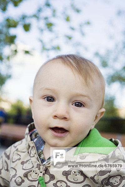 Portrait of baby boy (0-1 years)
