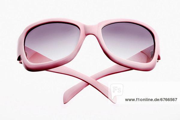 Rosa Brille,  Sonnenbrille