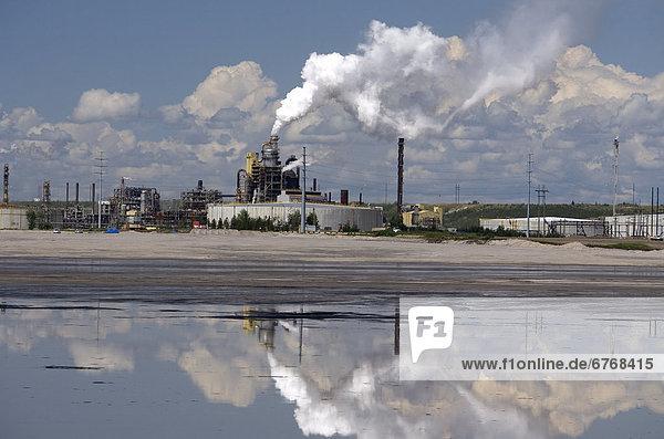 halten  Spiegelung  Sand  Personal  Alberta  Öl  Teich