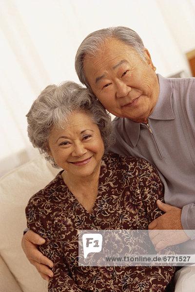 Portrait älteres Ehepaar