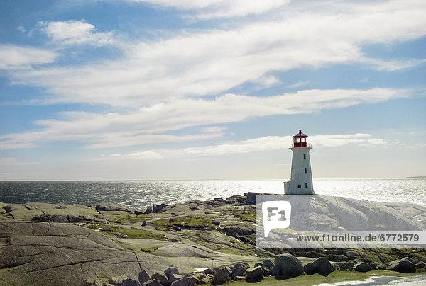 Leuchtturm  Peggys Cove  Nova Scotia  Nova Scotia  Neuschottland