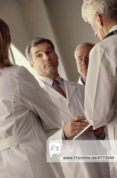 Teamwork Fachleute Gesundheitspflege