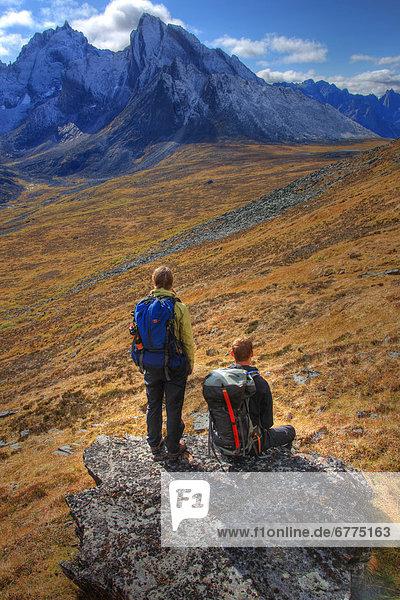 Ignoranz  Berg  Grabstein  Megalith  Revierverhalten  Yukon