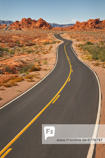 Vereinigte Staaten von Amerika  USA  Nevada  Valley of Fire State Park