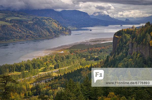 Vereinigte Staaten von Amerika  USA  Columbia River Gorge  Oregon
