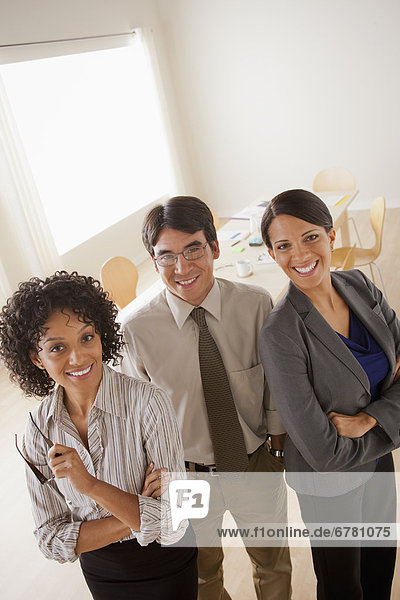 Porträt von Business-team