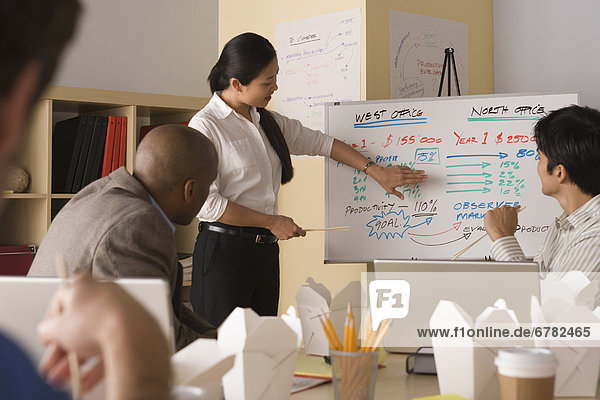 Gruppe von Businesspeople in meeting
