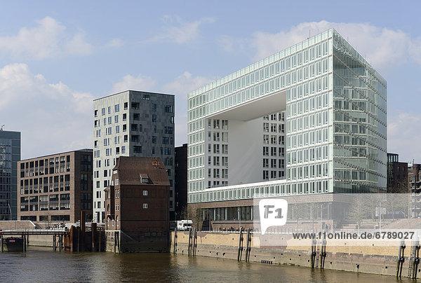 Bürogebäude Germanische Lloyd  Ericus-Contor an der Ericusspitze  HafenCity  Hansestadt Hamburg  Deutschland  Europa