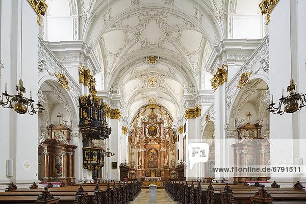 Alter Dom  auch Ignatiuskirche  Linz  Oberösterreich  Österreich  Europa
