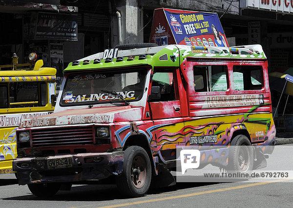 Jeepney  Cebu  Philippinen  Südostasien