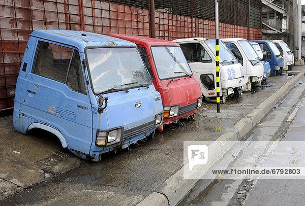 Gebrauchte Transporterkabinen  Cebu  Philippinen  Südostasien
