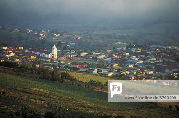 Hügel Ansicht Nachbarschaft Costa Rica