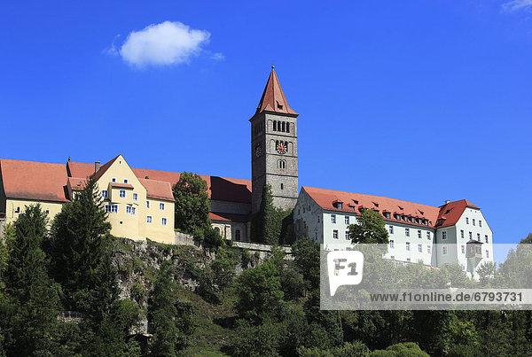 Das Kloster Sankt Petrus in Kastl  Benediktinerkloster  Landkreis Amberg-Sulzbach  Oberpfalz  Bayern  Deutschland  Europa
