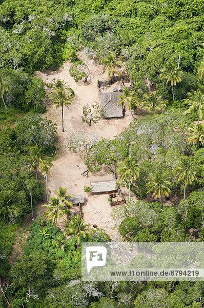 Luftbild Afrika Tansania