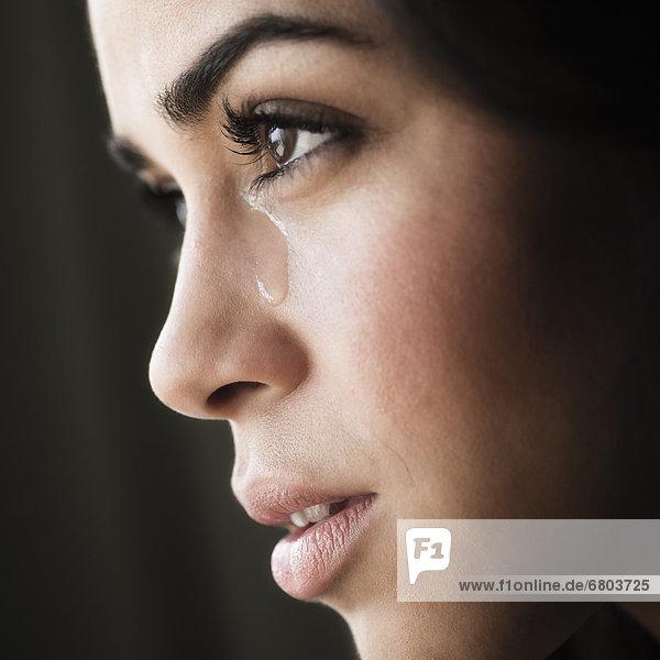 weinen  Frau  Close-up  close-ups  close up  close ups  jung