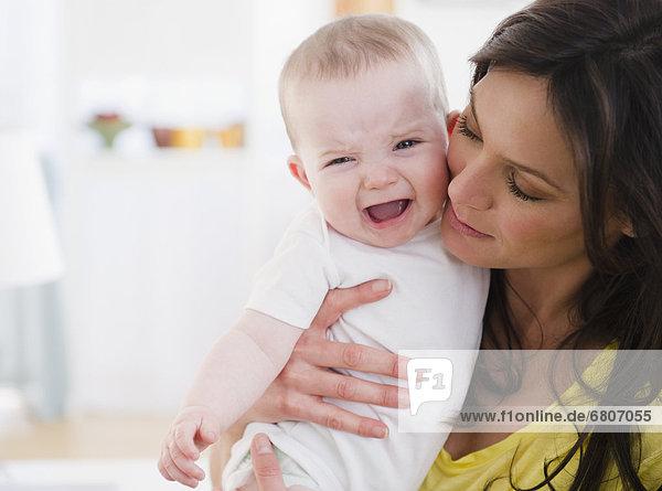 Mitleid  Tochter  Mutter - Mensch  Baby
