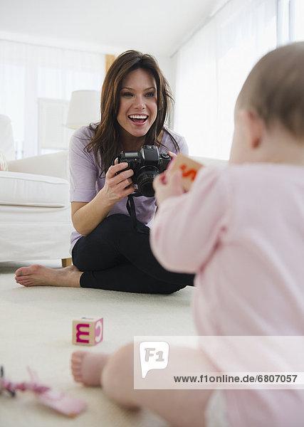 fotografieren  Tochter  Mutter - Mensch  Baby