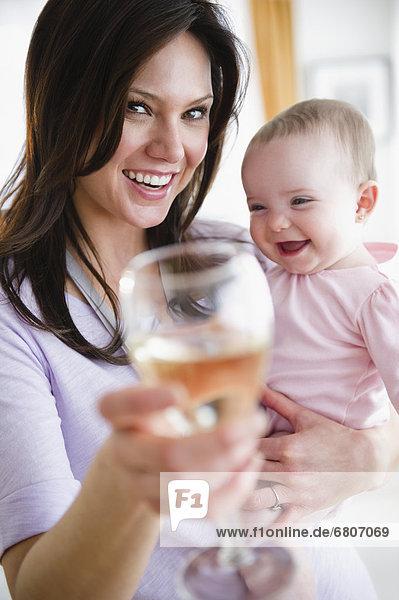 Produktion  Toastbrot  Tochter  Mutter - Mensch  Baby